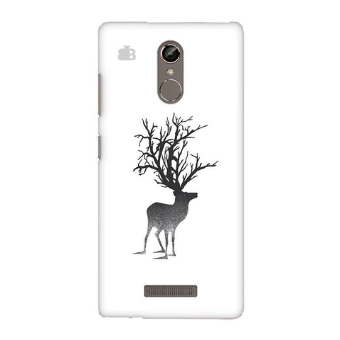 Abstract Deer Gionee S6S Phone Cover