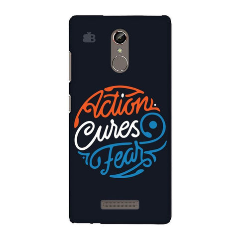 Action Cures Fear Gionee S6S Phone Cover