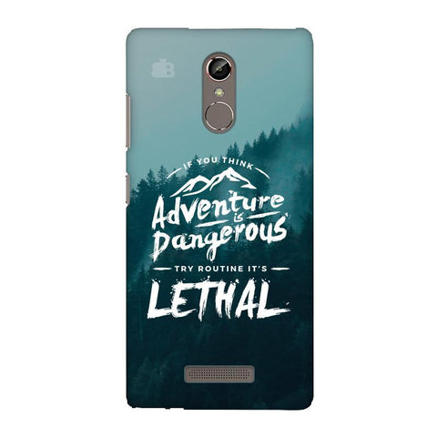 Adventure Gionee S6S Phone Cover