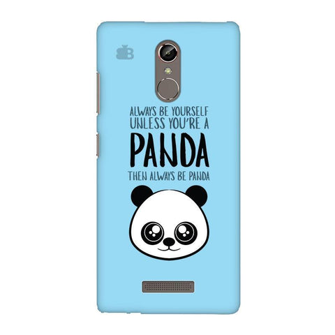 Always be panda Gionee S6S Phone Cover
