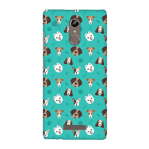Doggie Pattern Gionee S6S Phone Cover