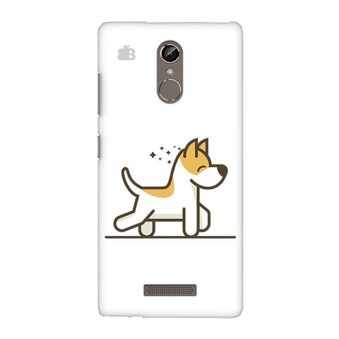 Happy Puppy Gionee S6S Phone Cover