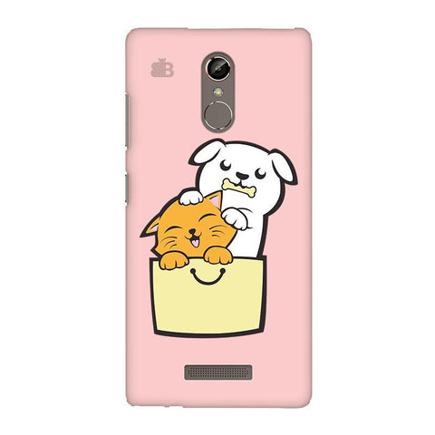 Kitty Puppy Buddies Gionee S6S Phone Cover