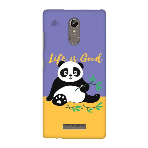 Panda Life is Good Gionee S6S Phone Cover