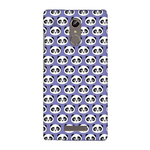 Panda Pattern Gionee S6S Phone Cover