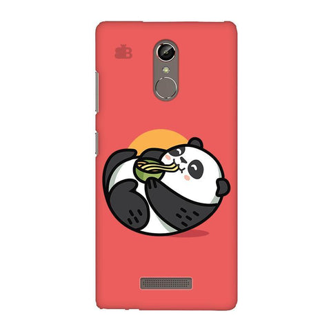 Panda eating Noodles Gionee S6S Phone Cover