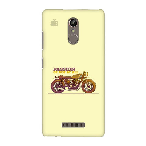 Passion for Motor Gionee S6S Phone Cover