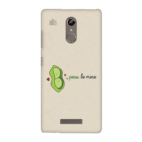 Peas be mine Gionee S6S Phone Cover