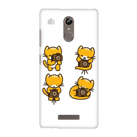 Photographer Kitty Gionee S6S Phone Cover