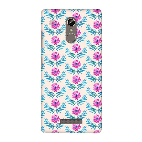Pink Watercolor Pattern Gionee S6S Phone Cover