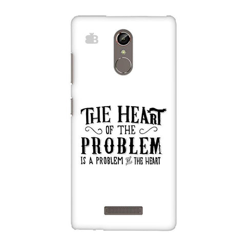 Problem of the Heart Gionee S6S Phone Cover