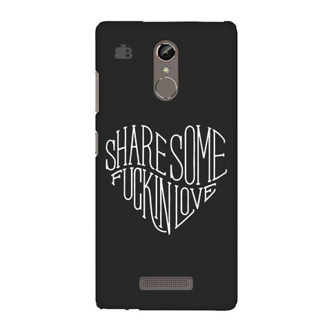Share Some F'ing Love Gionee S6S Phone Cover
