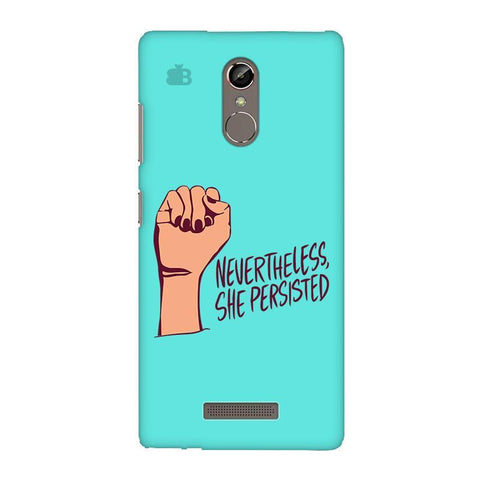 She Persisted Gionee S6S Phone Cover