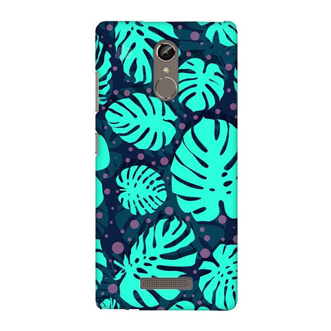 Tropical Leaves Pattern Gionee S6S Phone Cover