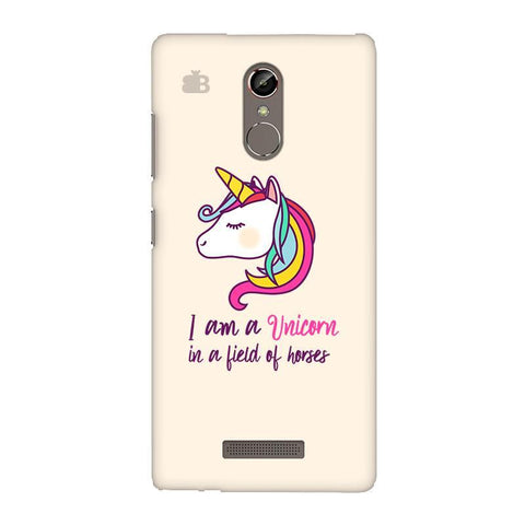 Unicorn in Horses Gionee S6S Phone Cover