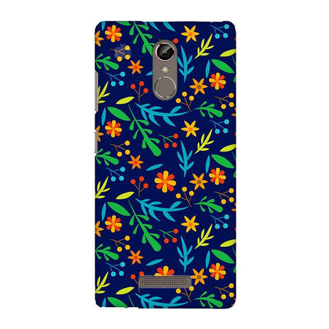 Vibrant Floral Pattern Gionee S6S Phone Cover