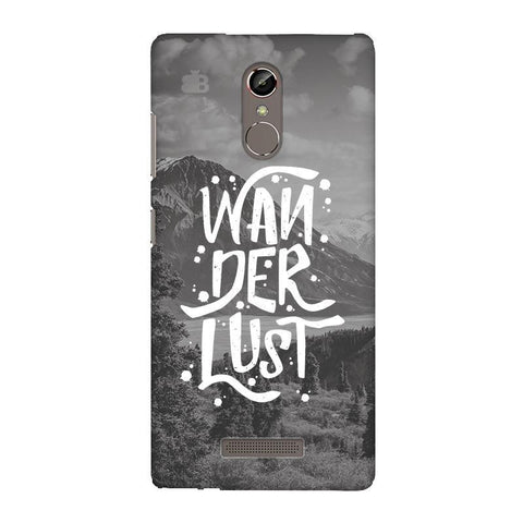 Wanderlust Gionee S6S Phone Cover