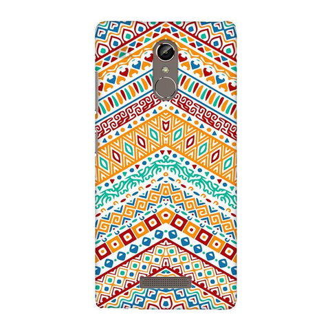 Wavy Ethnic Art Gionee S6S Phone Cover