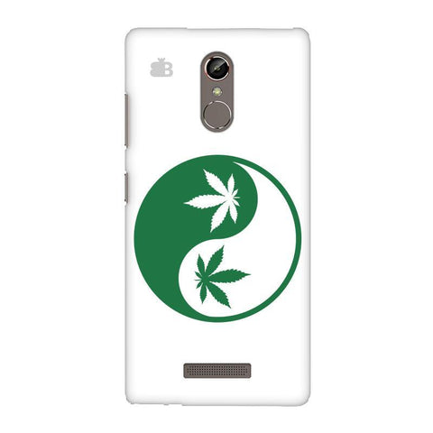 Weed Yin Yang Gionee S6S Phone Cover