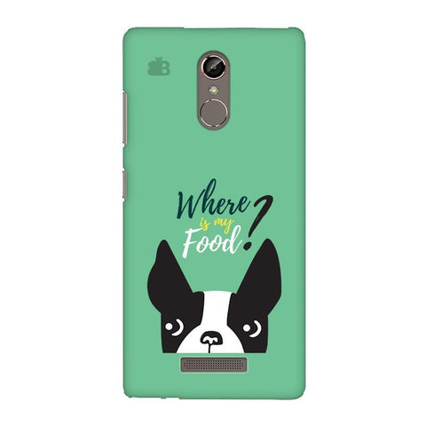 Where is my Food Gionee S6S Phone Cover