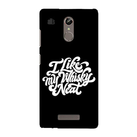 Whiskey Neat Gionee S6S Phone Cover