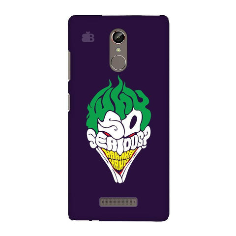 Why So Serious Gionee S6S Phone Cover