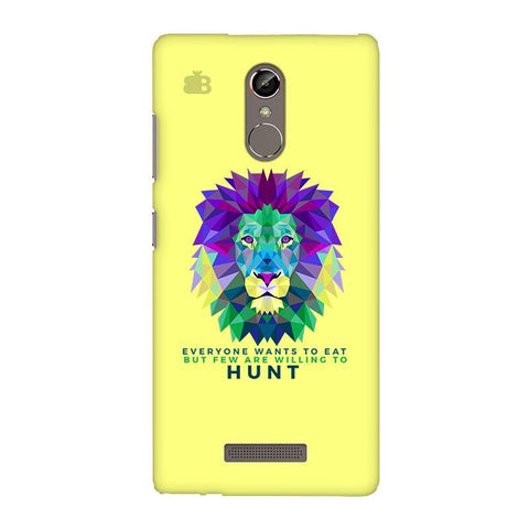 Willing to Hunt Gionee S6S Phone Cover