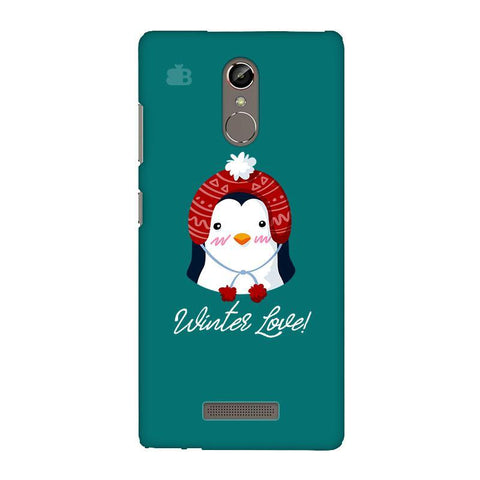 Winter Love Gionee S6S Phone Cover