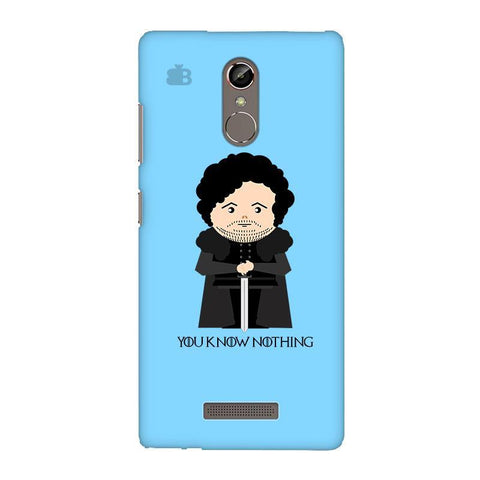 You Know Nothing Gionee S6S Phone Cover