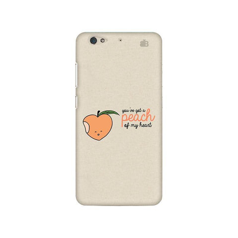 Peach of my heart Gionee S6 Phone Cover