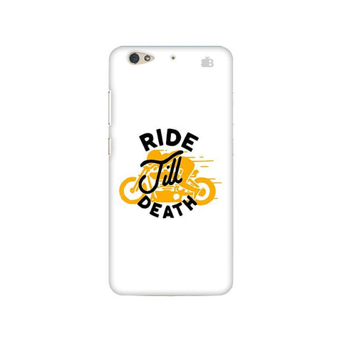 Ride Till Death Gionee S6 Phone Cover