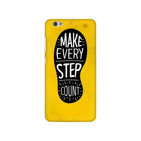 Step Count Gionee S6 Phone Cover