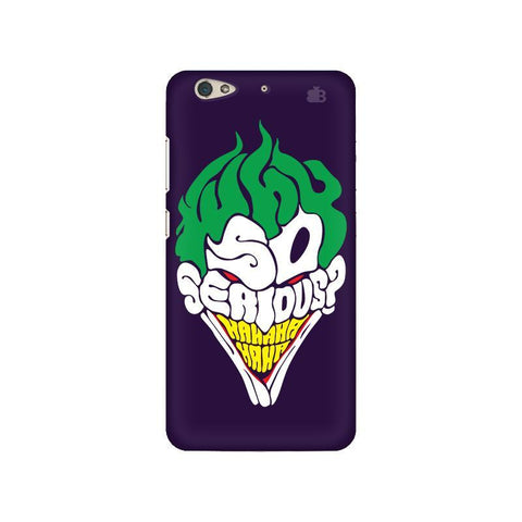 Why So Serious Gionee S6 Phone Cover