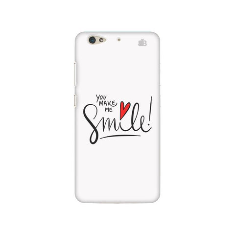 You make me Smile Gionee S6 Phone Cover