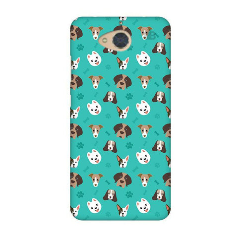 Doggie Pattern Gionee S6 Pro Phone Cover