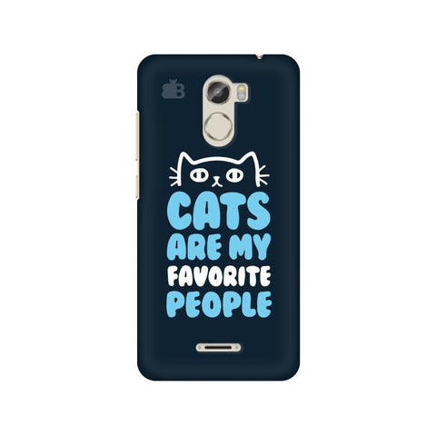 Cats favorite People Gionee X1 Phone Cover