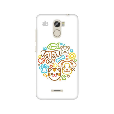 Cute Pets Gionee X1 Phone Cover