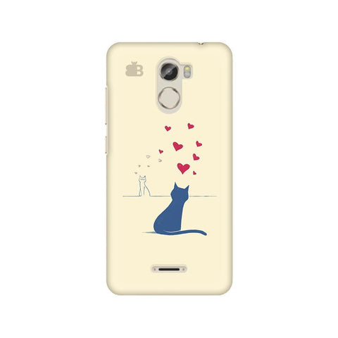Kitty in Love Gionee X1 Phone Cover