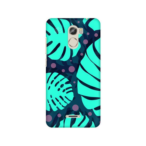 Tropical Leaves Pattern Gionee X1 Phone Cover