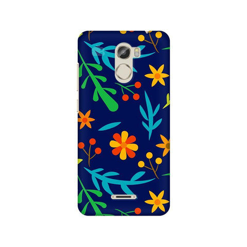 Vibrant Floral Pattern Gionee X1 Phone Cover