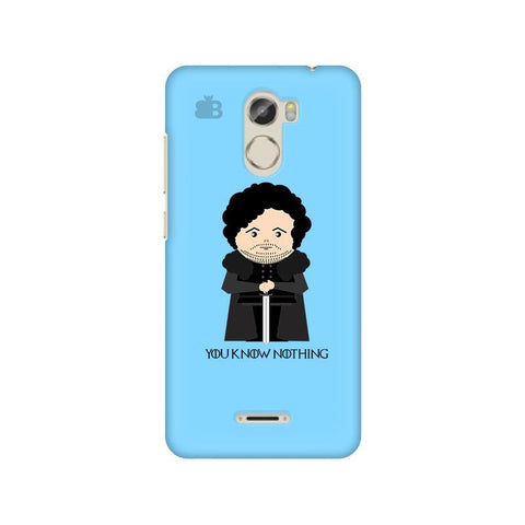 You Know Nothing Gionee X1 Phone Cover