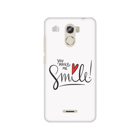 You make me Smile Gionee X1 Phone Cover