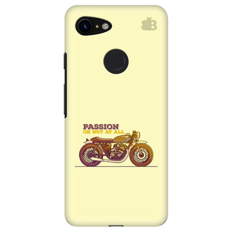 Passion for Motor Google Pixel 3 Cover