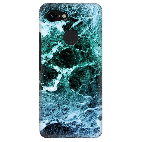 Sea Marble Google Pixel 3 Cover
