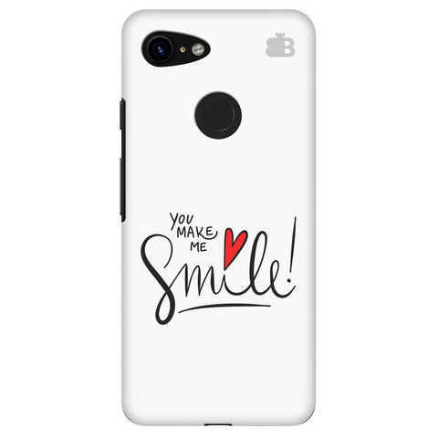 You make me Smile Google Pixel 3 Cover