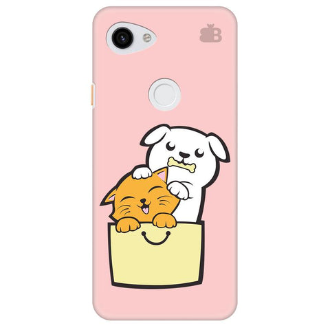 Kitty Puppy Buddies Google Pixel 3A Cover