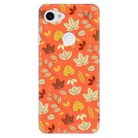 Cute Leaves Pattern Google Pixel 3A Xl Cover