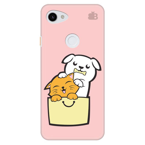 Kitty Puppy Buddies Google Pixel 3A Xl Cover