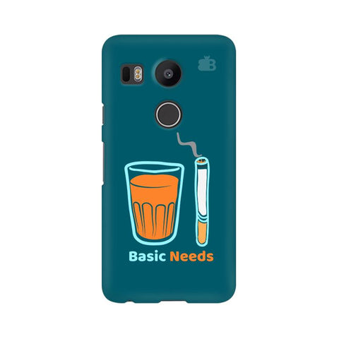 Chai Sutta Basic Google Nexus 5X Cover