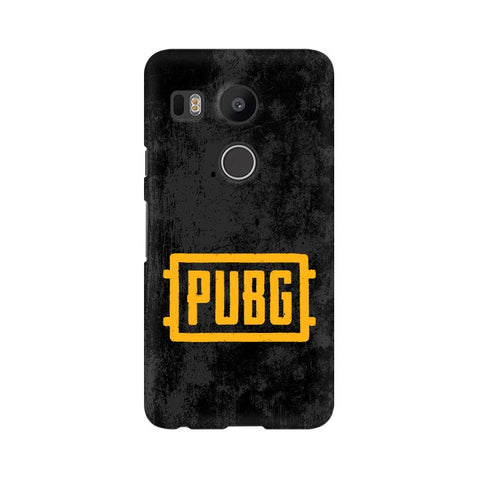 PUBG Google Nexus 5X Cover